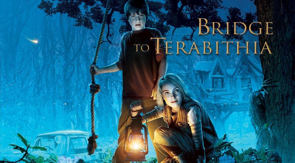 Bridge to Terabithia Movie Cover Movie Bridge to Terabithia