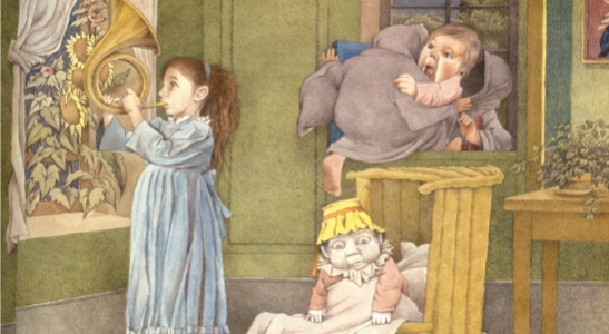 Outside Over There/Maurice Sendak