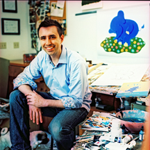 Photo of Author Jarrett J. Krosoczka