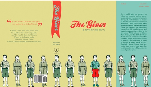the giver creative classroom activities media amanda miller via behance net