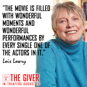 TheGiver-LoisLowryWonderfulPerformances