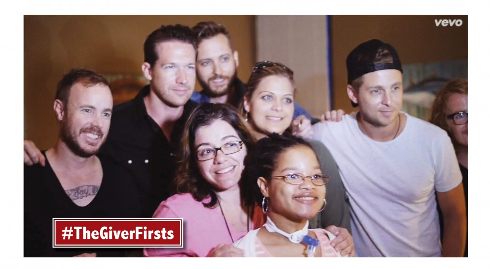 WATCH the video: #TheGiverFirsts – OneRepublic helps a little girl experience life for the first time outside of the hospital post thumbnail