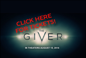 See THE GIVER in theaters TOMORROW! BUY YOUR TICKETS HERE! Feature Image