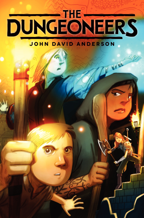 """COVER REVEAL: """"DUNGEONEERS"""" by John David Anderson post thumbnail"""
