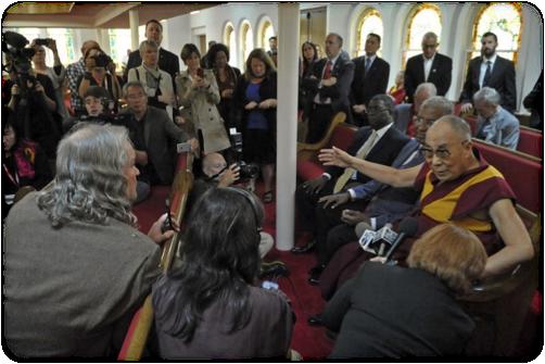 dalai press conference