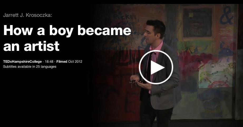 Have you seen Jarrett J. Krosoczka's TED Talk? post thumbnail