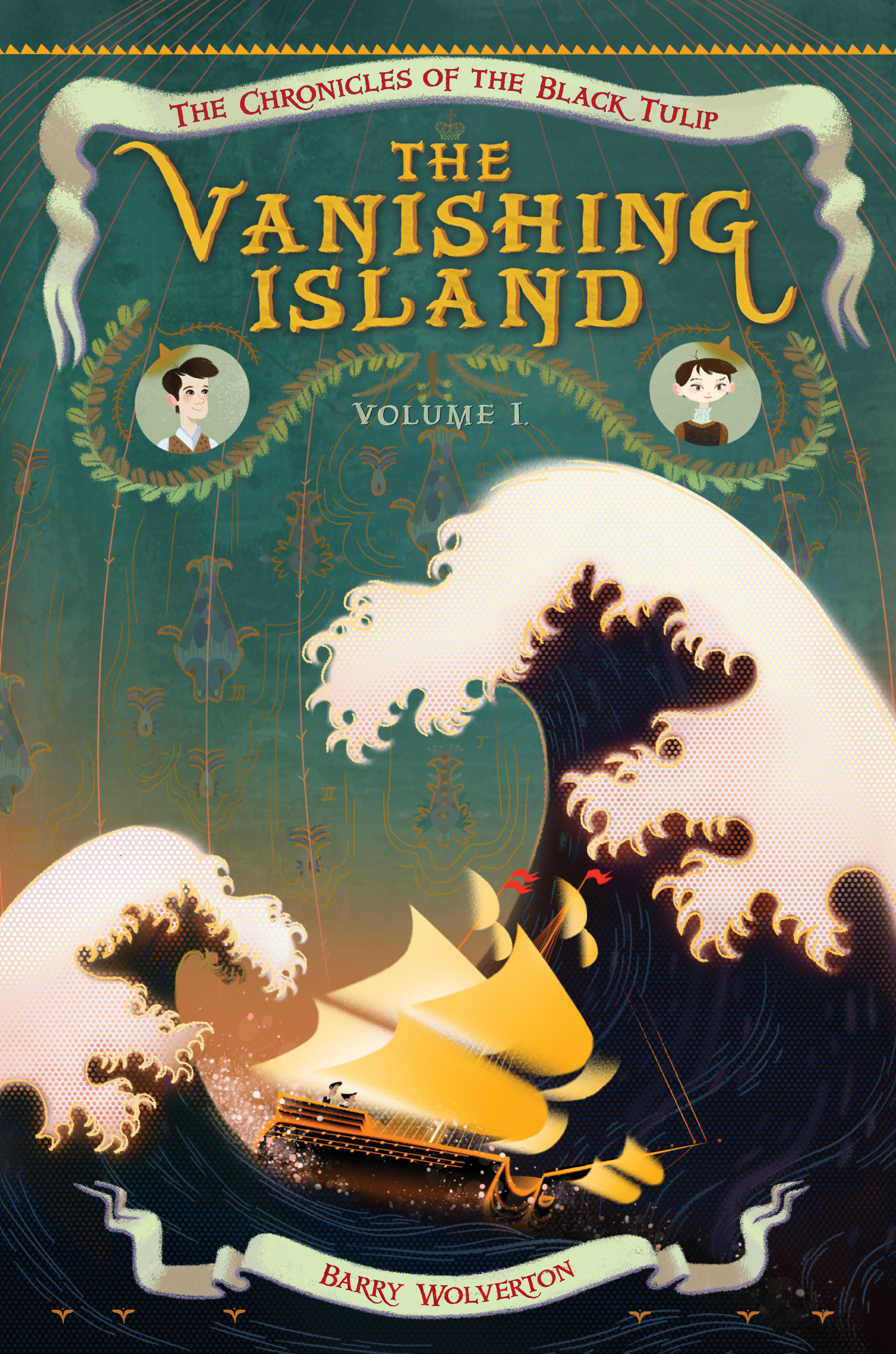 Cover Reveal:  THE VANISHING ISLAND   by Barry Wolverton post thumbnail