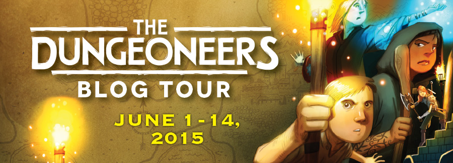 """BLOG TOUR:  """"The Dungeoneers"""" post thumbnail"""