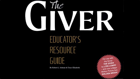 "Download ""The Giver"" Educator's Resource Guide post thumbnail"