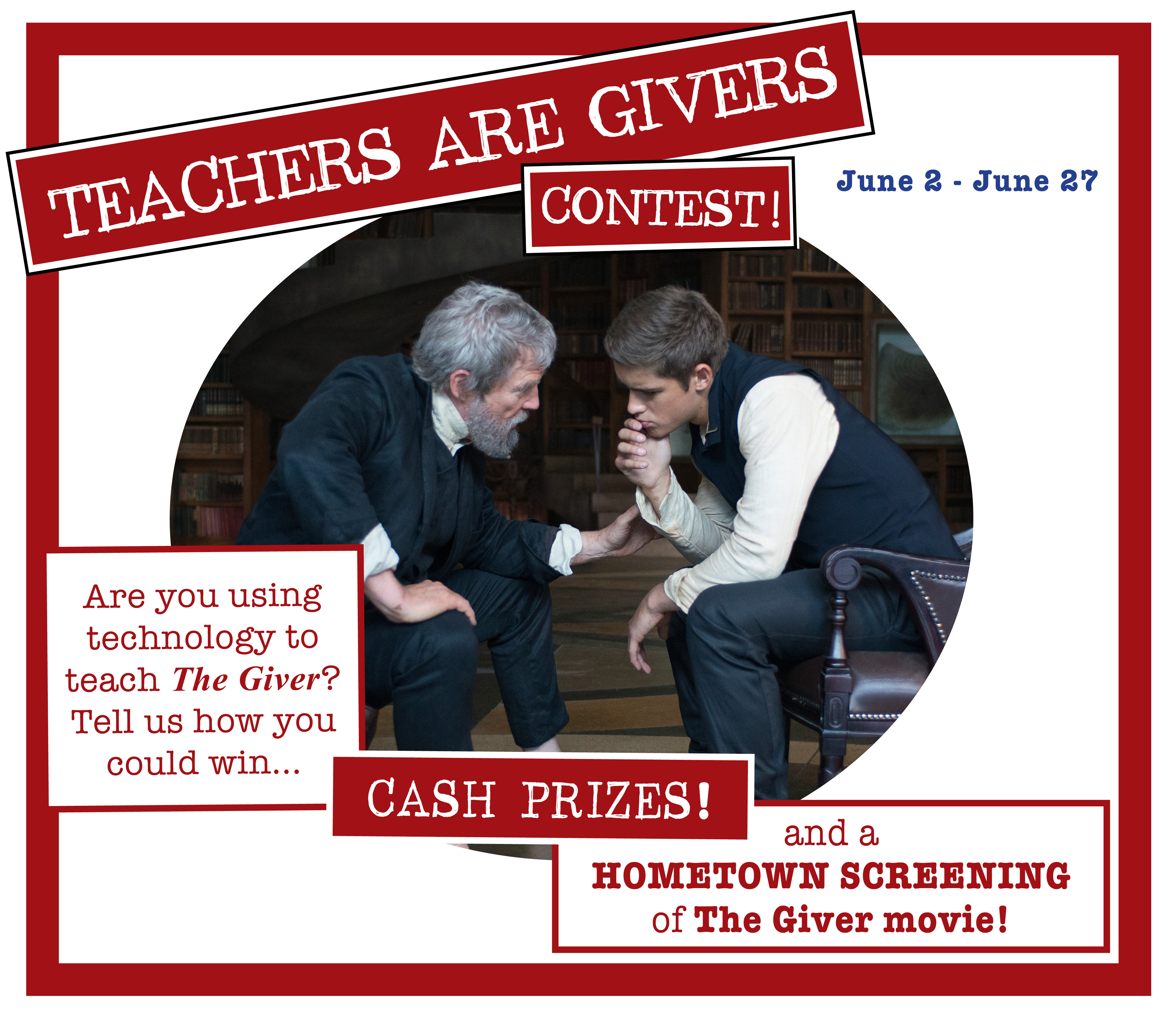 Coming Soon… TEACHERS ARE GIVERS Contest! post thumbnail