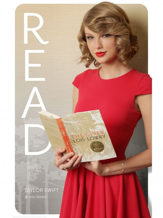 """Taylor Swift Makes Her ALA """"READ"""" Poster Debut post thumbnail"""