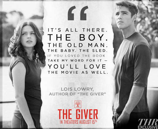 Lois Lowry Says Book Fans Will Love 'The Giver' Movie post thumbnail
