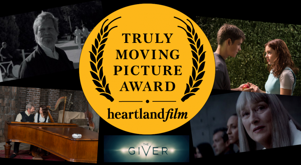 THE GIVER Wins Truly Moving Picture Award from Heartland Film post thumbnail