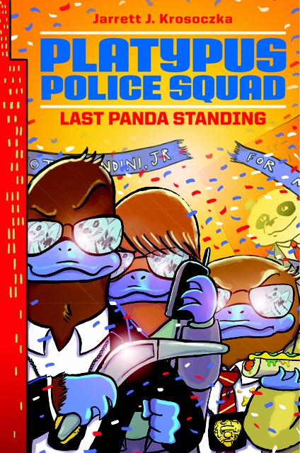 """PLATYPUS POLICE SQUAD: Last Panda Standing""  COVER REVEAL!!! post thumbnail"