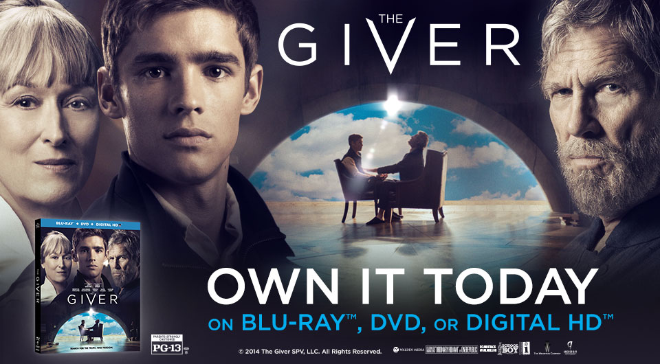 The Day is here! Own THE GIVER on DVD & BLU-RAY post thumbnail