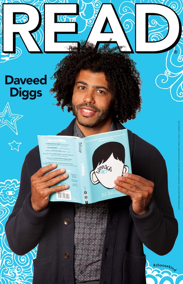 New Wonder/ALA Read poster – featuring Daveed Diggs! post thumbnail