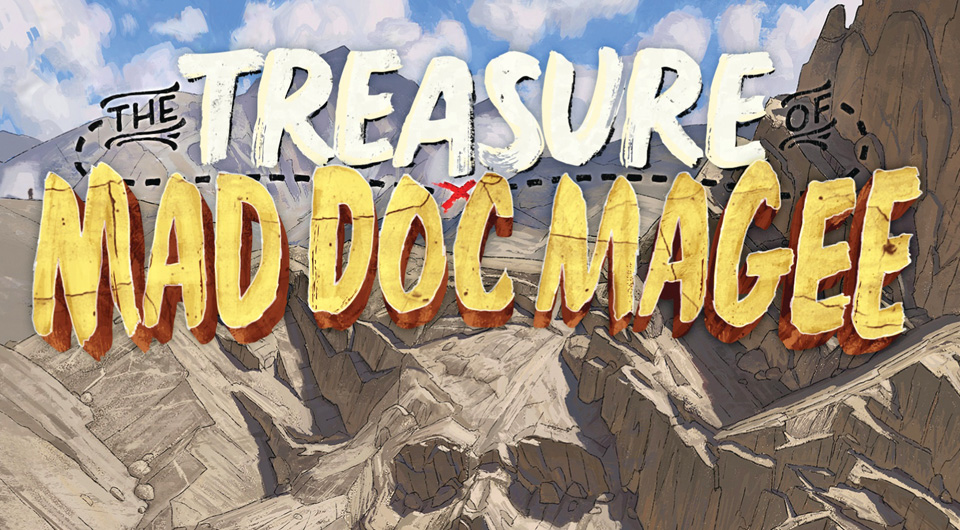 Blog Tour: THE TREASURE OF MAD DOC MAGEE post thumbnail